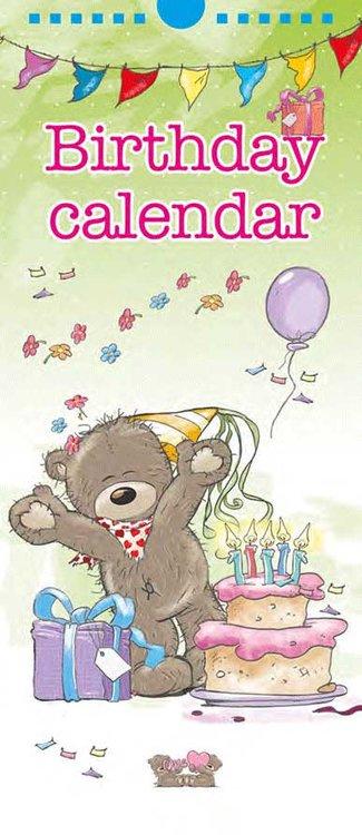 Bears Verjaardagskalender