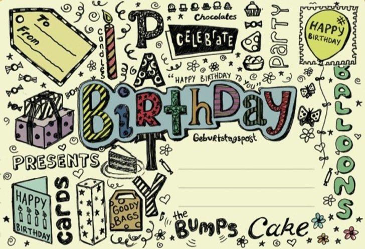 Birthday Party / Post voor jou