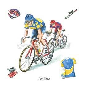 Cycling / PLS wenskaart