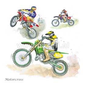 Motorcross / PLS wenskaart