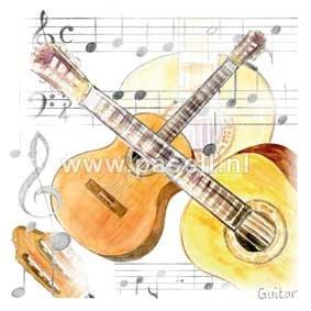Guitar / PLS wenskaart