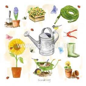 Gardening / PLS wenskaart