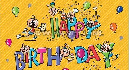 Kado envelop Happy Birthday