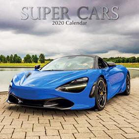 Super Cars Jaarkalender 2020