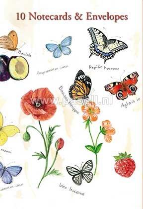 Butterflies garden notecards*
