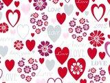 Toonbakrol Flower hearts R69101B