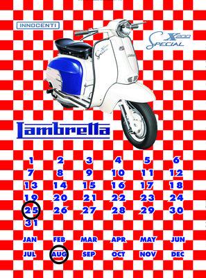 Lambretta kalender