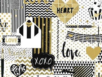 Toonbankrol Love Papery