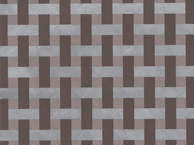 Toonbankrol Woven taupe/silver