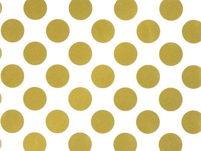 Toonbankrol Gold Dots