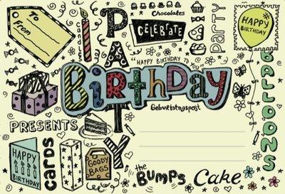 Birthday / Post voor jou