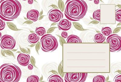 Pink rose / Post voor jou