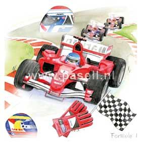 Formule 1 / PLS wenskaart