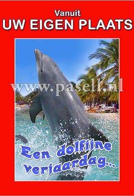 Plaatsnaamkaart Dolfijn