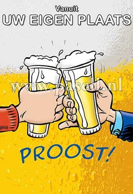 Plaatsnaamkaart Bier