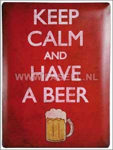 Keep Calm wall sign