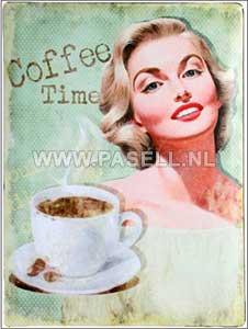 Retro Coffee wall sign