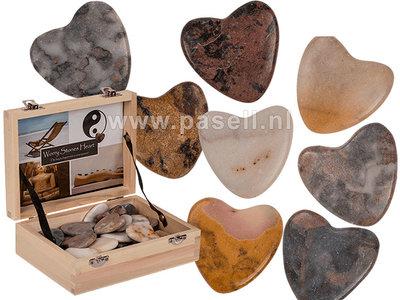 Natural Stone Hearts