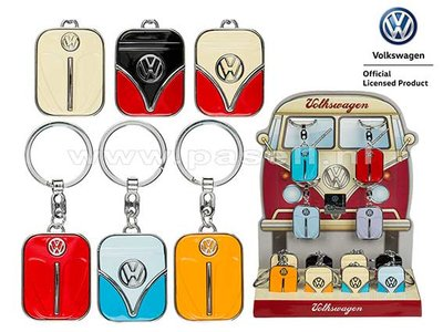 VW keyrings front cover Beetle & Bus