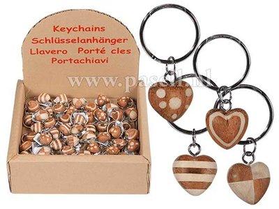 Mini hart sleutelhangers
