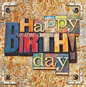 Happy Birthday / wenskaart