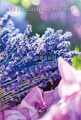 Lavender notecards*