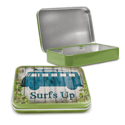 VW Camper Surf up Tin