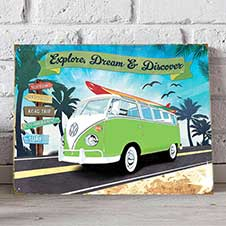 VW Road Trip wall sign