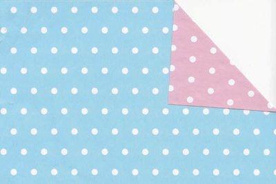 Toonbankrol Baby Blue / Pink