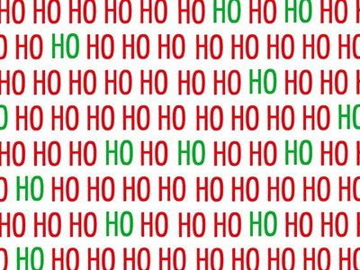 Toonbankrol Kerst R27302B HoHoHo