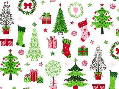 Toobankrol Kerst R27501B