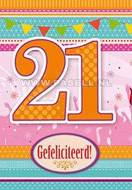 21 Jaar vrouw BG